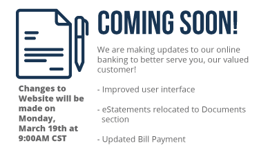 Retail Banking Coming Soon